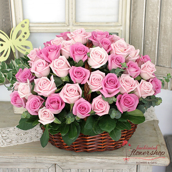 Hochiminh flower shop free delivery District 1 same day